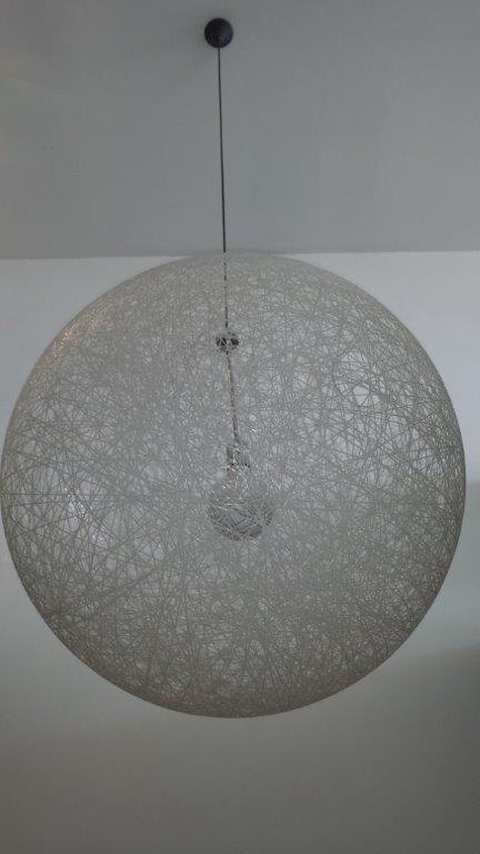 Stunning Wicker Ball Lamp Shade That Glows At Night Glow World Design