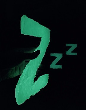 Drift off.......Zzz glow night light letters!