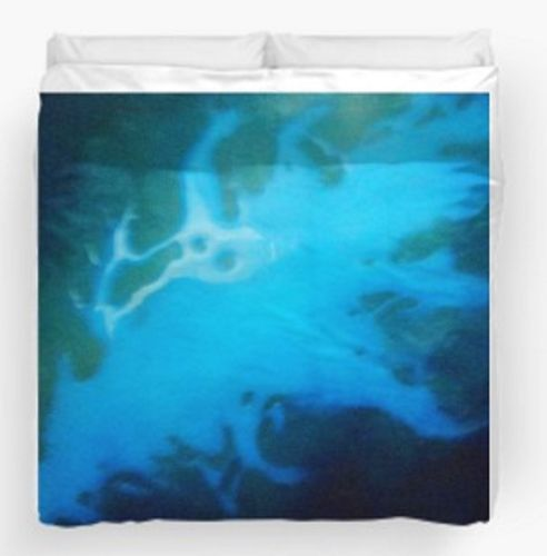Beautiful 'Blue Lagoon' DUVET COVER