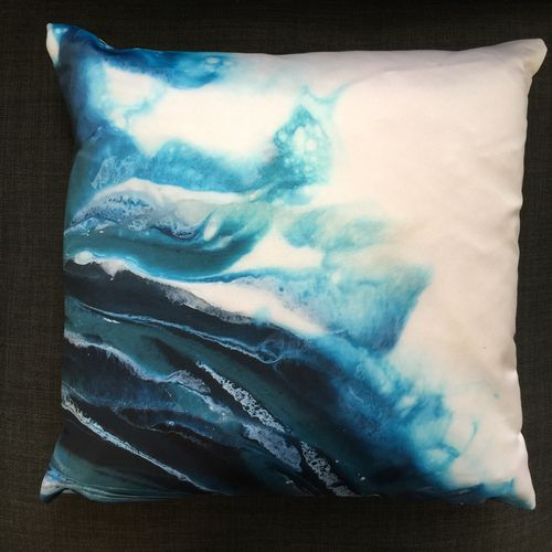 Luxury Satin Throw Cushions by Natasha Boast